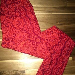 NEW OS LuLaRoe Legging Lace
